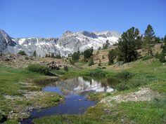 Saddlebag 20 Lakes Basin, Yosemite, Lee Vining, California, USA - Just about my very favorite place to hike.  So many lakes, so many wonderful sights.