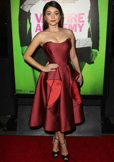 Sarah Hyland at the Los Angeles Premiere of Vampire Academy