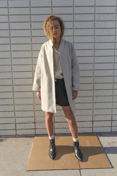 O-M | Blazer Coat, Oat / Objects Without Meaning