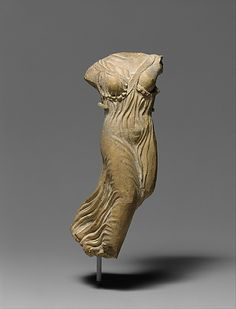 Terracotta statuette of Nike, the personification of victory,classical period,5th century BC  Greek