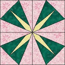 Block of Day for April 29, 2014 - Star Kaleidoscope
