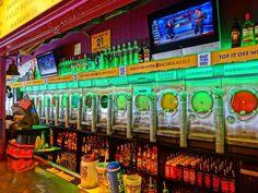 Fat Tuesday, Key West. Best bar ever. Like an adult version of baskin robbins. Yummy!