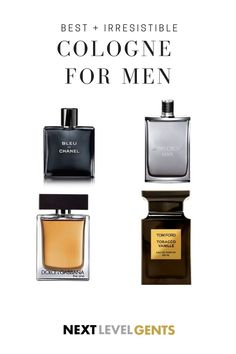 is a list of the best and irresistible colognes of all time for men. These colognes are great for any season, whether it's Spring or Winter! Best Perfume For Men, Best Fragrance For Men, Best Fragrances, Pink Perfume, Perfume Bottles, Best Mens Cologne, Perfume Genius, Chanel Men, Men's Grooming