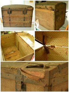 Comment rénover un coffre ancien chiné : le pas à pas.