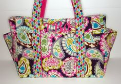 Design Your Own EXTRA Large Diaper Bag by glamourgirlboutique, $89.00