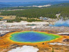 El cuerpo de un hombre de 23 años que cayó a las aguas termales del Parque Nacional de Yellowstone, en Estados Unidos, fue disuelto