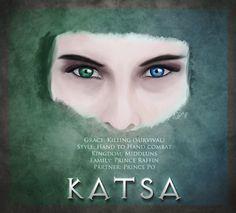 Graceling Katsa by vyanka
