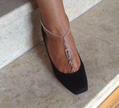 Barefoot Sandals bead whites wedding  Bikini  Women by SibelDesign, $24.90