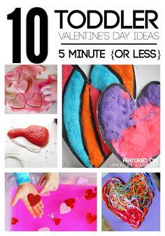 10 toddler valentine's day ideas