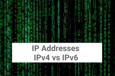 We use IP addresses in our daily lives in order to gain network and internet access. We'll discuss what IP addresses are as well as key differences between and Gain, Internet, Key, Life, Unique Key
