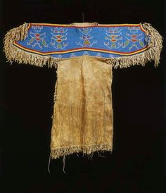 Woman's dress, Sioux. Reservation period.
