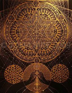 Mandala. The visual motif of the spiral is one of the oldest and most enigmatic sacred images known.