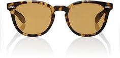 Oliver Peoples Women's Sheldrake Plus Sunglasses-BROWN, NO COLOR - $355.00
