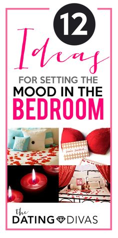 Setting the mood in the bedroom is so important. We both have a better experience when we're connected emotionally first!  www.TheDatingDivas.com