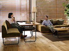 家具の配置で、居心地の良さが変わる!リビング・ダイニング...|Re:CENO Mag House Plans, Dining Room, Sofa, Interior, Table, 21st Century, Furniture, Live, Home Decor
