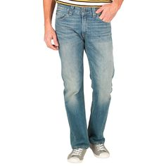 Buy Levi's Mens 506 Standard Fit Jeans Sky Is The Limit for £19.50