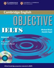 B2-C1. Objective IELTS : advanced - Michael Black, Annette Capel. Student's book, teacher's book, workbook, audio CDs. https://www.katalogoak.euskadi.net/cgi-bin_q81a/abnetclop?ACC=DOSEARCH&xsqf99=(757040.TITN.)&LANG=eu-ES
