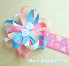 Flower Ribbon Bookmark Craft Kit for Kids Daycare Crafts, Crafts For Kids, Craft Kits For Kids, Craft Ideas, Bookmark Craft, Book Marks, Ribbon Bookmarks, Clothes Crafts, Teacher Stuff