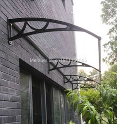 french door awning images   Polycarbonate Awning Door Canopy DIY Awning Vordach Entry Canopy Shop ...