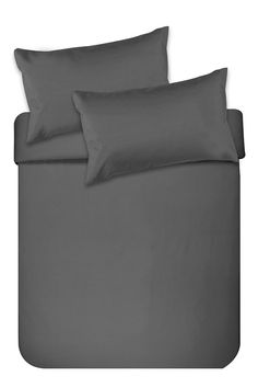 Made from a natural cotton percale, this simple yet classic duvet covet set is a tasteful addition for any bedroom setting. The high quality 200 threa