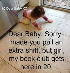 Mom Turns Apology Notes to Her Baby Into a Viral Sensation (PHOTOS)