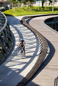 Jim Stynes Bridge project, Melbourne. Click image for full profile and visit the slowottawa.ca boards >> http://www.pinterest.com/slowottawa/