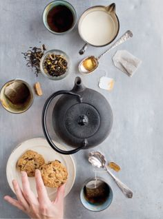 :: sweets & desserts :: Steeped in Knowledge: Exploring Tea's History | Edible Feast via Edible Allegheny