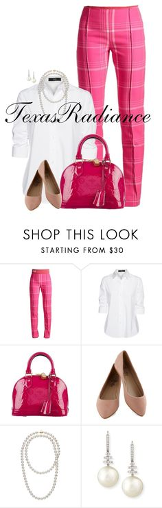 """""""Beyonce- Check On It"""" by texasradiance ❤ liked on Polyvore featuring Fendi, Steffen Schraut, Louis Vuitton and Belpearl"""