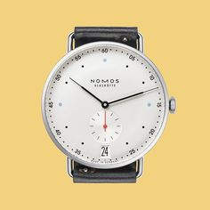 """""""Happy Friday, folks. Here's the new Metro 38 Datum from @nomos_glashuette to start your weekend off right. Check out the site to learn about the updates…"""""""