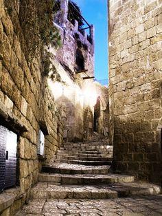 Street in old Jaffa.