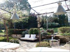 rustic chic garden