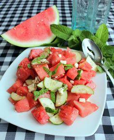 Watermelon Salad. Sm