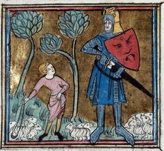 Manuscript Troyes BM MS.59 Bible historiale Folio 158v Dating 1300-1325 From Paris, Frankreich Holding Institution Médiathèque de l'Agglomération Troyenne