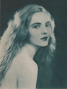 Dorothy Mackaill, portrait by Edwin Bower Hesser, Photoplay magazine, 1924