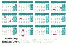 Kalender 2017 für Brandenburg http://www.kalender-2017.net/feiertage-brandenburg/
