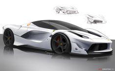 Ferrari FXX K Wins Gold at Design Awards