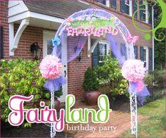 Fairy birthday party ideas!