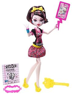 Monster High Freaky Fusion Save Frankie! Draculaura Doll