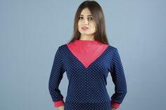 Stretchkleider - NARA bequemes Stretch Kleid mit 3/4 Ärmel - ein Designerstück von Berlinerfashion bei DaWanda