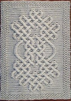 Celtic Knot Knitting Pattern Book : Celtic, Knots and Knitting on Pinterest