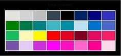 should wear colors that are sharp and clear. White, black, navy blue, red and shocking pink #wardrobechallenge
