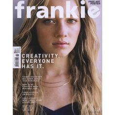 Frankie magazine ❤ liked on Polyvore featuring fillers, magazine, books, pictures, backgrounds and magazine cover