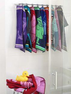 Finlayson Niiskuneiti bath towel I Niiskuneiti-kylpypyyhe Finland Joko, Bath Towels, My Dream Home, Finland, Bathroom Ideas, Design, Big, Sweet, Beautiful