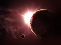 Fond d'ecran Eclipse de Terre