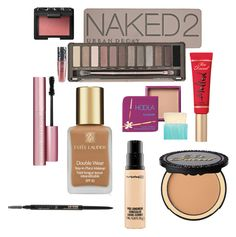 High End Makeup Must Haves by nevadapruitt on Polyvore featuring beauty, Urban Decay, Too Faced Cosmetics, Estée Lauder, NARS Cosmetics, Anastasia Beverly Hills, MAC Cosmetics and Hoola