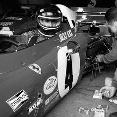 Jacky Ickx in his Ferrari F1, Nürburgring (Philippe Graton)