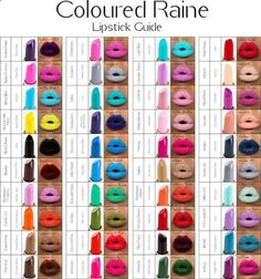 Coloured Raine lipsticks for absolutely opaque lips. | 26 Holy Grail Beauty Products That Are Worth Every Penny