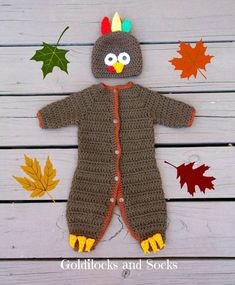 Adorable turkey costume for your baby's First Thanksgiving! by Goldilocksan… Adorable turkey costume for your baby's First Thanksgiving! by GoldilocksandSocks Babys First Thanksgiving, Thanksgiving Baby Outfits, Thanksgiving Turkey, Baby Turkey, Turkey Hat, Baby Shower Favors Girl, Baby Shower Invitations For Boys, Baby Girl Room Themes, Turkey Costume