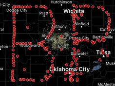 Storm spotters honor Bill Paxton by spelling his initials on map     - CNET  The late actor Bill Paxton starred in many movies. But for storm spotters those daring few who take out after a tornado while the rest of us are running and hiding he will forever be remembered for his work in the 1996 film Twister.  Fittingly those who live Paxtons role in real life honored him Sunday the same day news of his death came out with a storm-related homage organized by Spotter Network a group of storm…