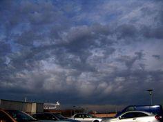 Stratocumulus virga - Wolken Online